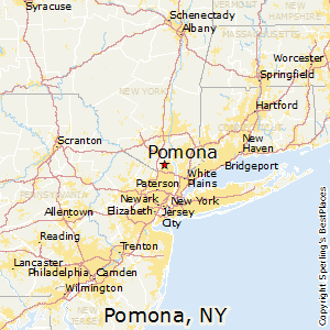 Pomona,New York Map