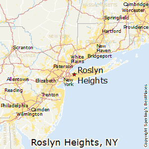 Roslyn_Heights,New York Map