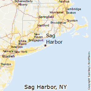 Sag_Harbor,New York Map