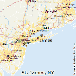 St_James,New York Map