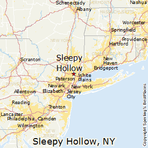 Salem New York Map.Comparison Sleepy Hollow New York Salem Massachusetts