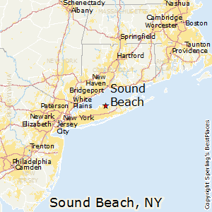 Sound_Beach,New York Map