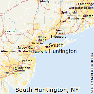 Huntington New York Map.Best Places To Live In South Huntington New York