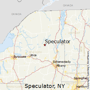 Speculator,New York Map