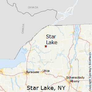 Star_Lake,New York Map