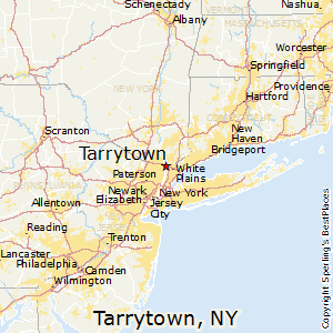 Tarrytown,New York Map