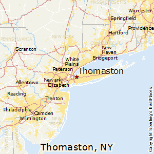 Thomaston,New York Map