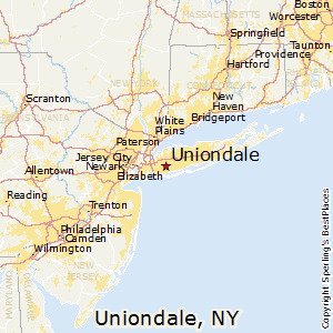Uniondale,New York Map