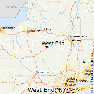 West_End,New York Map