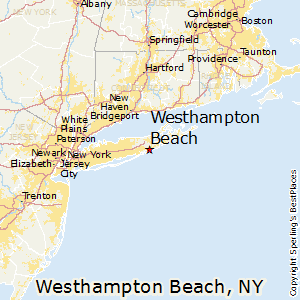 Westhampton Beach New York Map