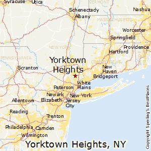 Comparison Yorktown Heights New York Yonkers New York
