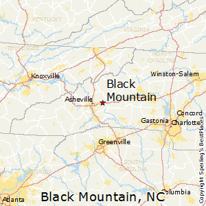 Black_Mountain,North Carolina Map