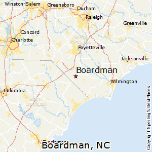 Boardman,North Carolina Map