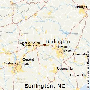 Burlington Nc Zip Code Map.Best Places To Live In Burlington North Carolina