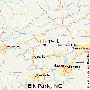 Elk_Park,North Carolina Map