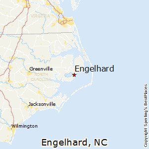 Engelhard,North Carolina Map