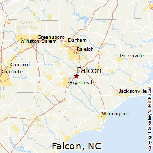 Falcon,North Carolina Map