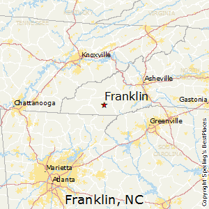 Franklin Nc Map Best Places to Live in Franklin, North Carolina