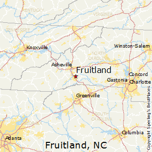Fruitland,North Carolina Map