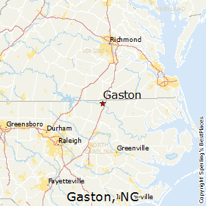 Gaston Nc Map.Best Places To Live In Gaston North Carolina