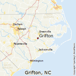 Grifton,North Carolina Map