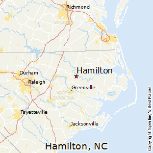 Hamilton Nc Map.Best Places To Live In Hamilton North Carolina