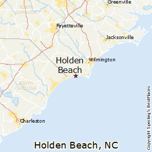 Holden Beach Nc Map Comparison: Ocean Isle Beach, North Carolina   Holden Beach, North  Holden Beach Nc Map