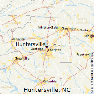 Huntersville Nc Zip Code Map.Best Places To Live In Huntersville North Carolina