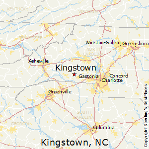 Kingstown,North Carolina Map