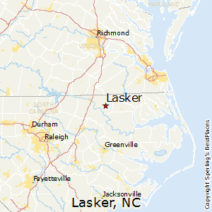 Lasker,North Carolina Map
