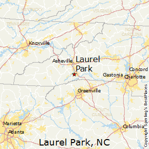 Laurel_Park,North Carolina Map