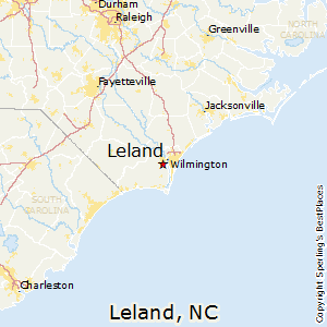 Leland,North Carolina Map