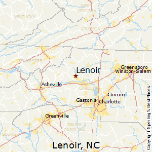 Nc Map Of Cities And Towns.Best Places To Live In Lenoir North Carolina