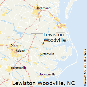 Lewiston_Woodville,North Carolina Map