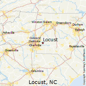 Locust nc zip code