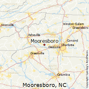 Mooresboro,North Carolina Map