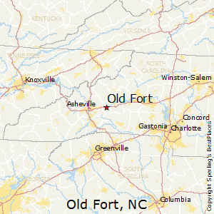 Old Fort Nc Map.Best Places To Live In Old Fort North Carolina