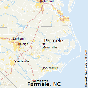 Parmele,North Carolina Map
