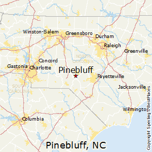 Pine Bluff Ar Zip Code Map.Best Places To Live In Pinebluff North Carolina