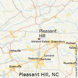 Pleasant_Hill,North Carolina Map