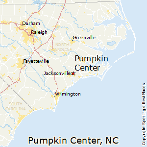 Pumpkin_Center,North Carolina Map