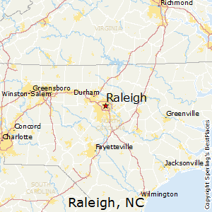 Raleigh, North Carolina Cost of Living