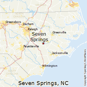Seven_Springs,North Carolina Map