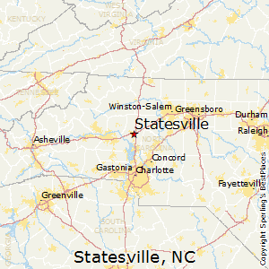 Statesville Nc Map Best Places to Live in Statesville, North Carolina Statesville Nc Map