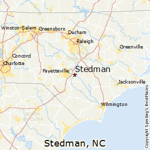 Stedman,North Carolina Map