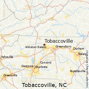 Tobaccoville,North Carolina Map