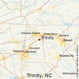 Best Places to Live in Trinity, North Carolina