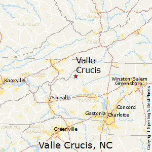 Valle_Crucis,North Carolina Map