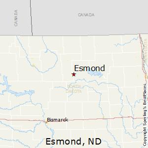 Best Places to Live in Esmond, North Dakota on map of gwinner north dakota, map of arnegard north dakota, map of belfield north dakota, map of berthold north dakota, map of bowman north dakota, map of valley city north dakota, map of medora north dakota, map of mandan north dakota, map of heimdal north dakota, map of finley north dakota, map of fort yates north dakota,