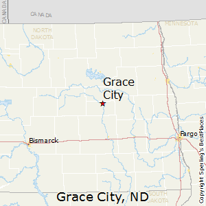 Grace_City,North Dakota Map